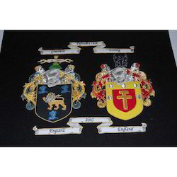 Family Crest Embroidery