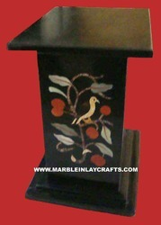 Stone Inlay Table Stands