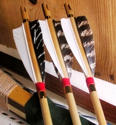 ARCHERY English classical wooden arrows