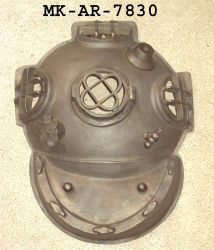 Divers Helmet Wall Hanging