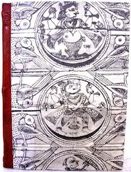 Old Indian Design Printed Handmade Paper Journal