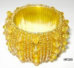 Beaded Napkin Ring NR280