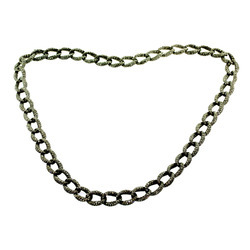Pave Diamond Matinee Necklaces
