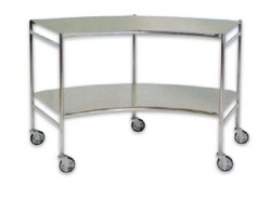 Curved Instrument Trolley