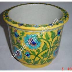 Blue Pottery Gamla