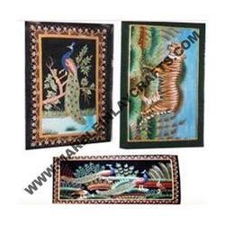 Embroidery Wall Panel and Wall Decoration
