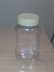 300gms Square Shape Jar