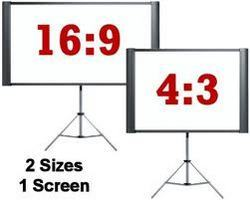 Tripod Stand Projection Screen