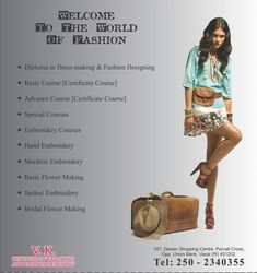 VK Institute Of Tailoring And Fashion Designing