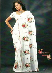 White Fancy Sarees
