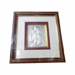Radhe Krishna Silver Frames
