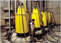 Heavy Duty Non Clog Sewage Submersible Pump