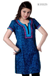 Exclusively Designer Embroidered Kurtis