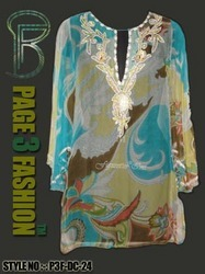 Miami Beach Wear Kaftan ( Embroidered )