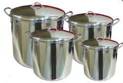 Air Tight Lid Stock Pots