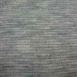 Cotton Slub Grey Melange Fabric