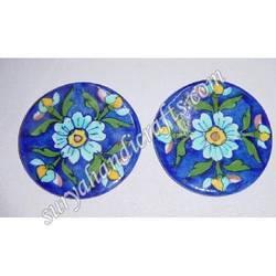 Blue Pottery Coaster