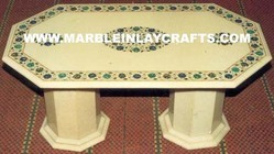 Stone Inlaid Tables