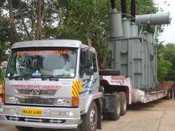Transortation of Heavy Machineries
