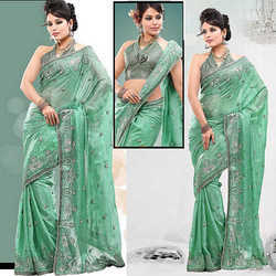 Georgette Stylish Party Wear Sarees