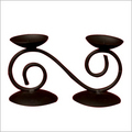 Wrough  Iron-Candle Stand