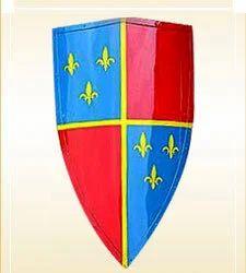 Medeval Fleur -DE-LIS Shield