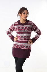 Ladies long sweater 11