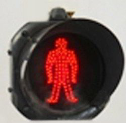 Traffic Signal Light (Pedistrian ) Red