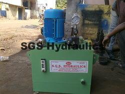 Hydraulic Power Pack 5H.P With Valves