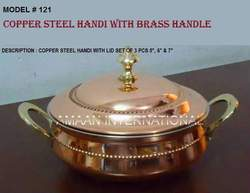 Handi Copper Steel with Lid