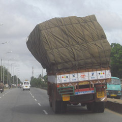 Full Truck Road All Over India