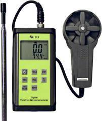 - 575 Vane And Hot Wire Velocity Meter