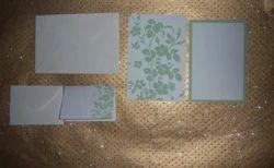 Custom Printed Blank Wedding Invites