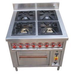 Four Burner Chinese With Oven