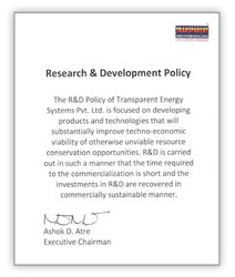 R & D Policy