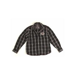 Black Check Shirt NURUNF-1589
