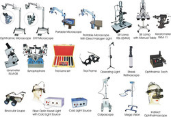 Ophthalmic Equipments & Instruments