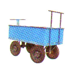 Wheel Barrow-Four Wheel