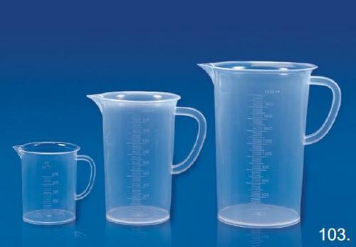 laboratory measuring jug