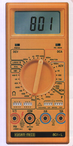 33/4 Digit 3999 Counts Large Display Digital Multimeter