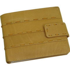 Stitched Leather Wallet