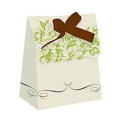 Custom Printed Cake Bags With Ribbon Ties