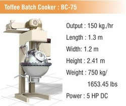 Toffee Batch Cooker