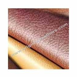 cow semi aniline upper leather