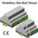 Din Rail Module Enclosure 110x74x22.5,70,157