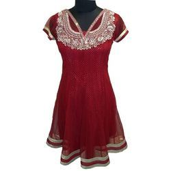 Designer Red Suit For Women
