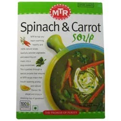MTR - Spinach & Carrot Soup