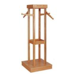 wooden appareal rack