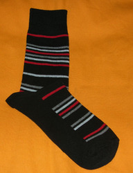 AOV /MN/ST/24 Men Stripe Socks