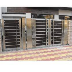 SS Gates - Stainless Steel Main Gates Manufacturer from Chandigarh